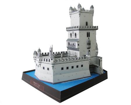 пятиярусная крепость-маяк
