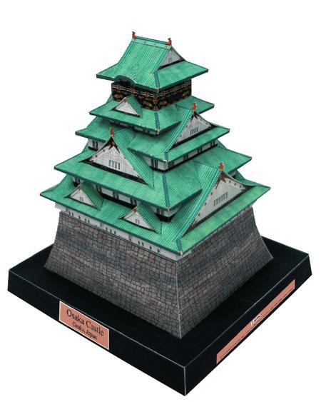 Японский домик из бумаги