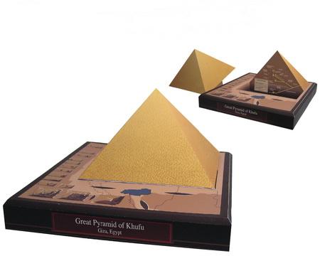 Египетская пирамиды своими руками
