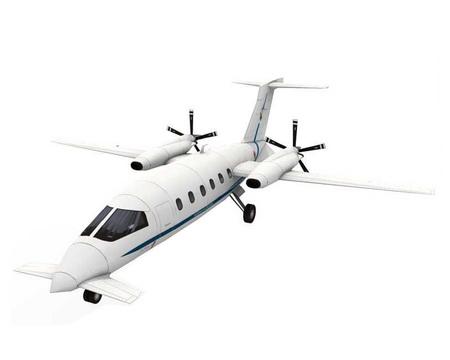 Самолет выполнен по схеме