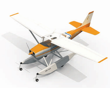 Самолет Сessna172 Skyhawk