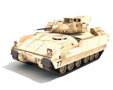 M2A2 Bradley Модель