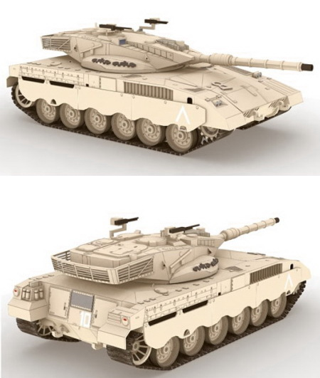 Merkava Mark II Main Battle Tank