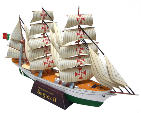 Как сделать своими руками модель корабля из бумаги